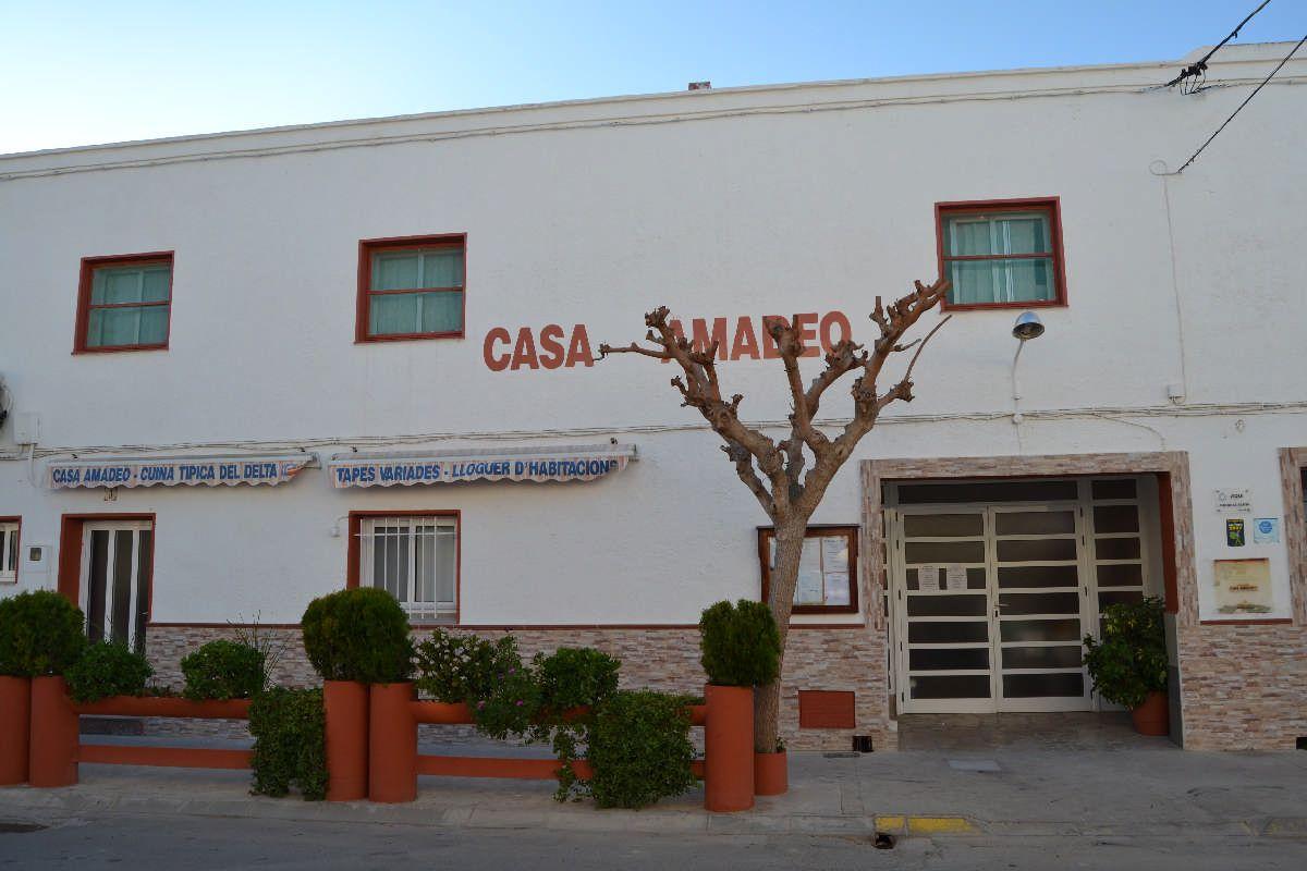 Casa de colònies Amadeo - Casa de colònies, Casa Amadeo al delta de l'Ebre - 9